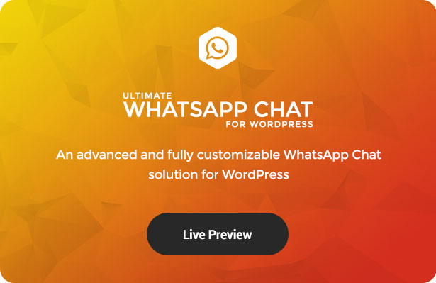 Ultimate WhatsApp Chat Support for WordPress - 2